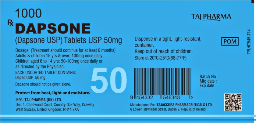 dapsone tablets usp 50mg